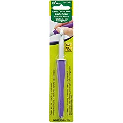 CLOVER 1057/NP Amour Crochet Hook, Size N/P/10.0mm