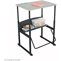 Safco AlphaBetter Desk, 28 by 20 Standard Top without Book Box