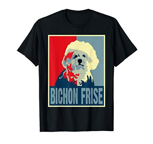 Vintage Retro Art Bichon-Frise Dog Awesome T-shirt