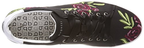 Dames Bugatti 421291056950 Noir Baskets (noir / Multicolor)
