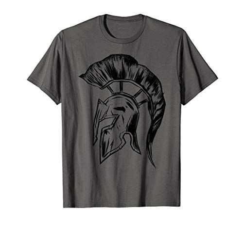 Spartan Helmet Warrior Trojan Warrior for men women -