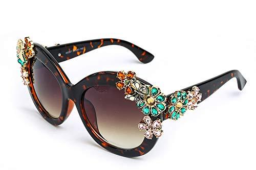 2502c9555 Fashion Vintage Cat Eye sunglasses women Metal Crystal Diamond sun glasses