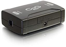 C2G / Cables To Go 40019 Optical to Coaxial Digital Audio Converter (Black)