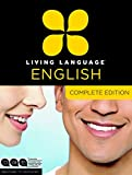 img - for Living Language English, Complete Edition (ESL/ELL): Beginner through advanced course, including 3 coursebooks, 9 audio CDs, and free online learning book / textbook / text book