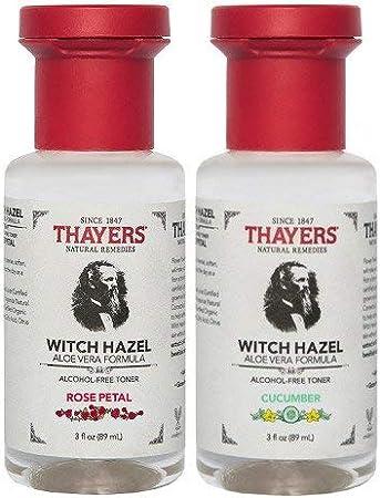 : thayers pétalos y pepino Combo Witch Hazel con