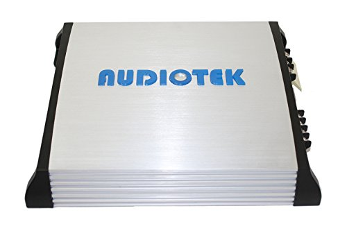 AUDIOTEK AT820S 2 CHANNELS CLASS AB 2 OHM STABLE 1500W STEREO POWER CAR AMPLIFIER W/ BASS CONTROL by Audiotek (Image #3)