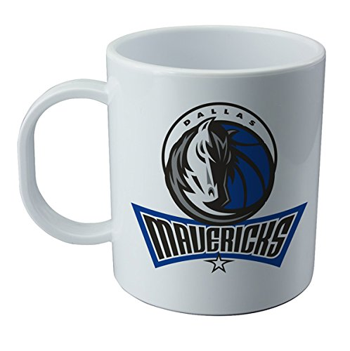 Taza y pegatina de Dallas Mavericks - NBA Wallp