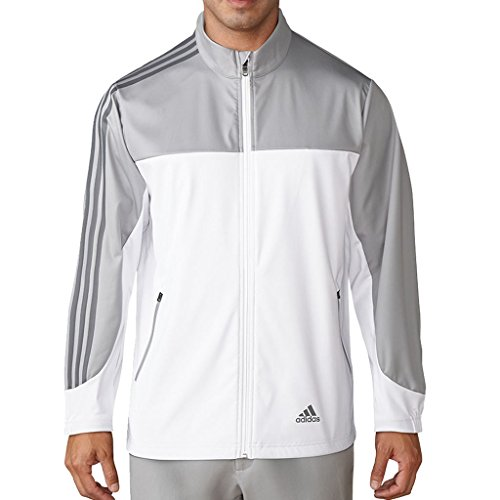 adidas Golf 2018 Mens Competition Windproof Full Zip Jacket Mid Grey Medium
