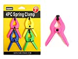 4PC Spring Clamps Size: 3'' , Case of 96