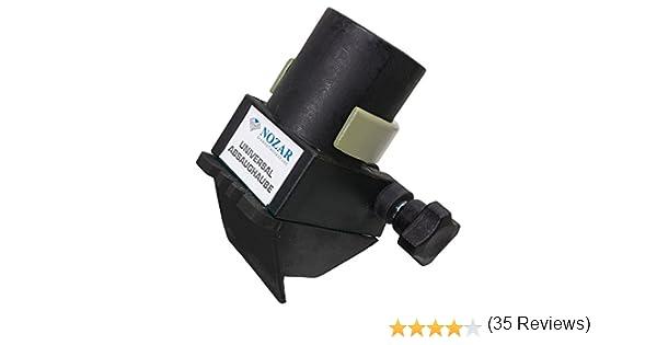 pl/ástico nozar 6705500/Extracci/ón Campana para amoladora de /ángulo 1/pieza /300/mm f/ácil montaje con UNIVE rsellem Aspiradora Conector polvo para amoladora de D115/