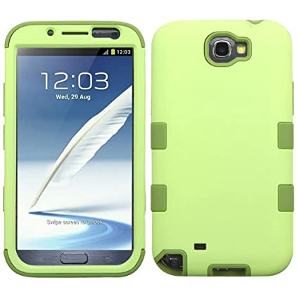 buy online 1a33c e4ae3 Samsung Galaxy Note 2 T889 / I605 / N7100 Case, Kaleidio [TUFF] Rugged  Shockproof Hybrid Dual Layer Protective Heavy Duty Armor Cover [Includes a  ...