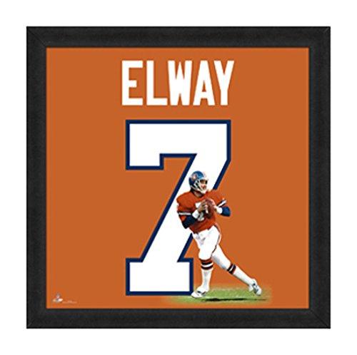 """NFL Denver Broncos John Elway 20"""" x 20"""" Player Uniframe"""
