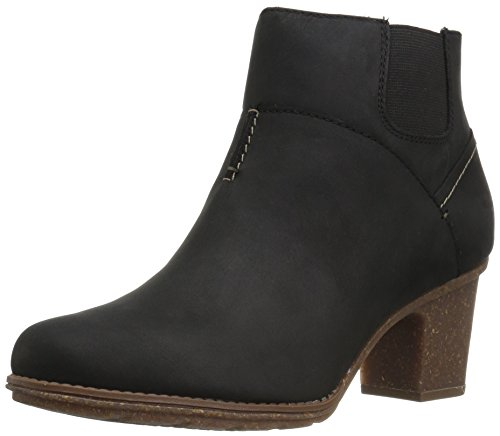Leather CLARKS Ankle Black Vita Women's Sashlin Bootie 8xqwBYgn1q