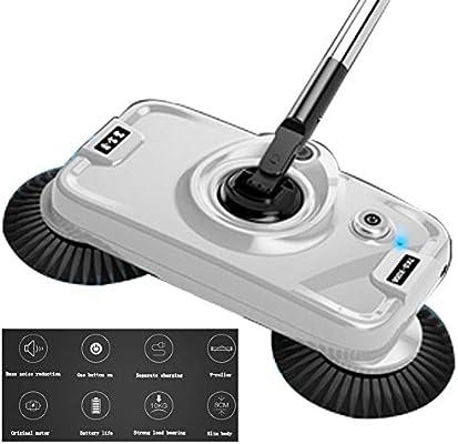 Escoba eléctrica recargable, aspirador escoba inalámbrica Sweeper ...