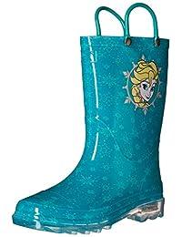 Western Chief Kids Frozen Elsa Light Up Rain Boots