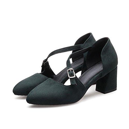 Nicht BalaMasa Baguette Urethan Grün Damen ASL05070 markierende Stil übergroße Sandalen im 5rUr4qx