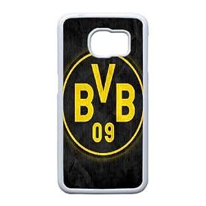 Samsung Galaxy S6 Edge Cell Phone Case White Borussia Dortmund BVB Bundesliga Football Club F5082905