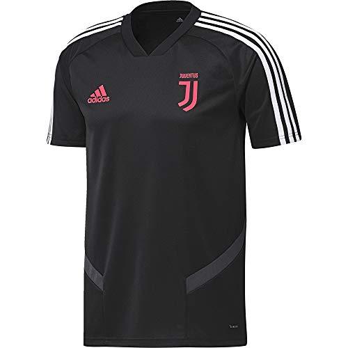 - adidas 2019-2020 Juventus Training Football Soccer T-Shirt Jersey (Black) - Kids