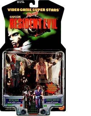 (Resident Evil Zombie w/ Forest Speyer by Toy Biz)