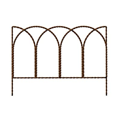 """PANACEA PRODUCTS 89362 Rustic Farmhouse Twisted Wire Hoop Border Edge, 14"""" x 20"""""""