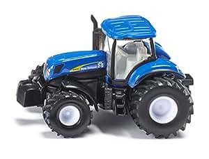 Amazon.com: 1:87 Siku New Holland 7070 Tractor: Siku: Toys & Games