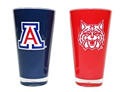 NCAA Arizona Wildcats 20-Ounce Insulated Tumbler - 2 Pack