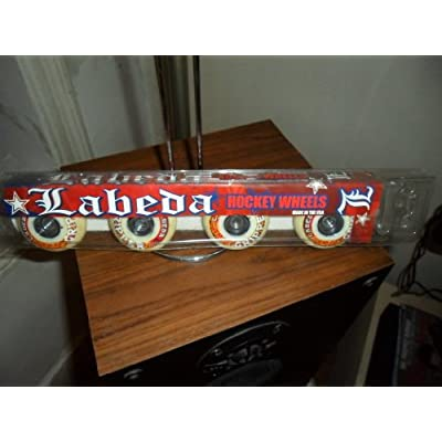 Labeda Wheels Inline Roller Hockey Gripper Asphalt 59mm X4 : Replacement Skate Wheels : Sports & Outdoors