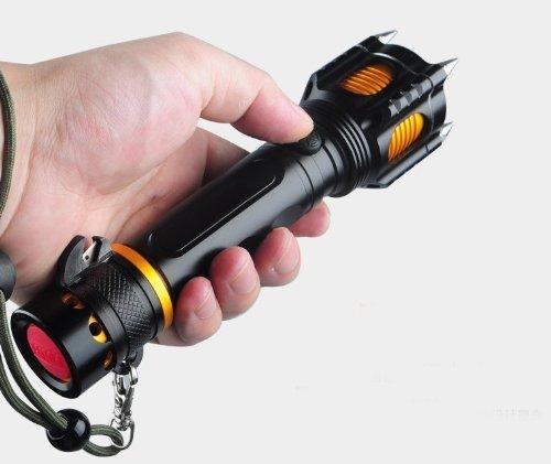 WindFire 1800lumens Tactical Flashlight Emergency product image