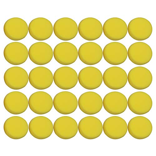 30PCS Painting Sponge Synthetic Artist Sponges Watercolor Sponges for Painting, Crafts, Pottery and More by Lemimo (Image #2)