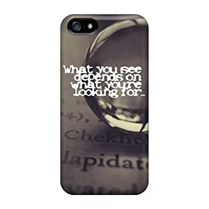 New What You See Tpu Case Cover, Anti-scratch Charming YaYa Phone Case For Iphone 5/5s