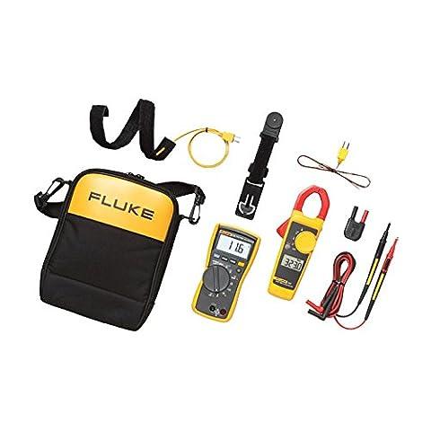 Fluke 116/323 KIT HVAC Multimeter and Clamp Meter Combo Kit (Fluke Hvac)