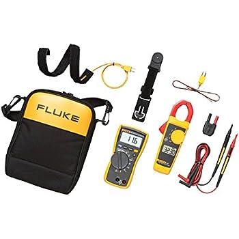 Fluke FLUKE-116/323 KIT HVAC Multimeter and Clamp Meter Combo Kit
