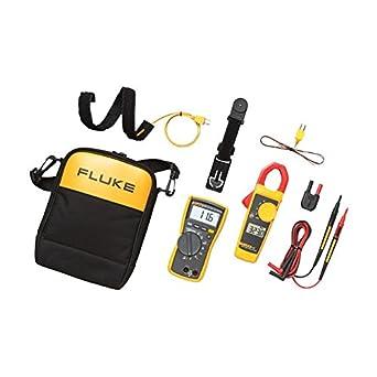 Fluke 116 323 KIT HVAC Multimeter and Clamp Meter Combo Kit – FLUKE-116 323 KIT