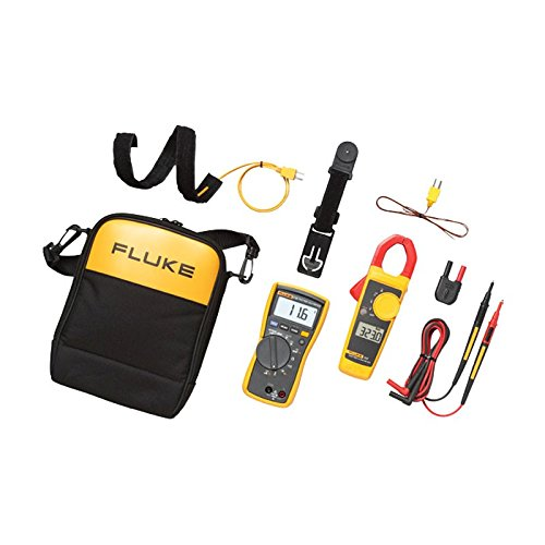 Fluke FLUKE-116/323 KIT HVAC Multimeter and Clamp Meter Combo (Fluke 345 Power Quality Clamp)
