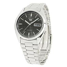 Seiko Men's 5 SNXF07 Automatic Black Dial Watch