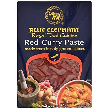- Blue Elephant royal thai cuisine Red Curry Paste 70 G