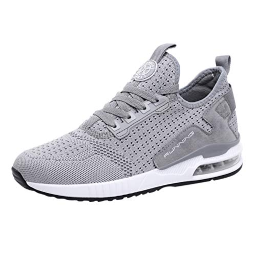 JJLIKER Men Women Running Shoes Sports Trainers Shock Absorbing Sneakers for Walking Gym Jogging Fitness Athletic Casual
