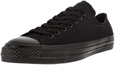 Converse Unisex Chuck Taylor All Star Pro Ox Black/Black Skate Shoe 9.5 Men US / 11.5 Women US