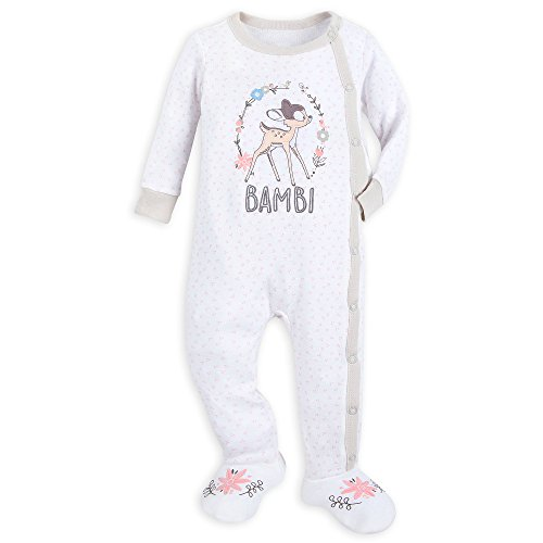 b186c8430 Disney Bambi Footed Stretchie Sleeper for Baby Size 12-18 MO Multi ...