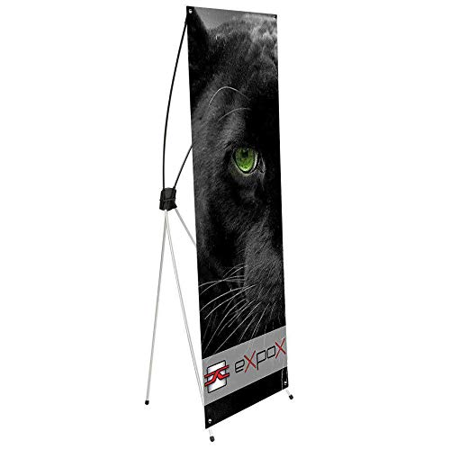 allprintheads Expox DI-XCG X Banner Stand | 23.5'' x 63'' | Aluminum/Fiberglass