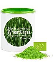 Erba di Grano in Polvere - ricco di vitamine|Biologica|vegano|crudo|pura nutritivo|no additivo|Good Nutritions|120g