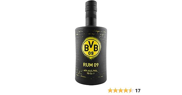 Borussia Dortmund Ron 09, Unisex, Negro/Amarillo