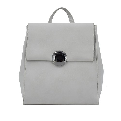 5ff0e5d5cb Galleon - ESA Fashion Backpack Medium For Women Vegan Leather School  Satchel Purse Knapsack Bag