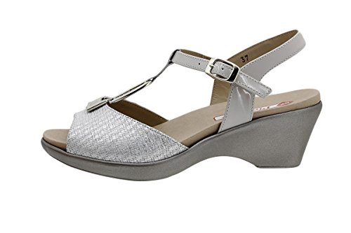 Femme Sandales Hielo À Piesanto Amovible 180866 Confort Chaussure Semelle Grecia dRaxqwYv