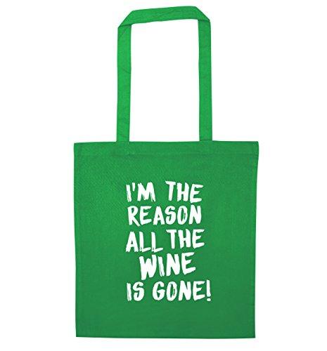 the all Bag is Reason Tote Wine Flox Gone Creative I'm Green SwqIOHF