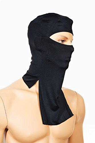 KIDS- JUNIOR Shinobi, Ninja Mask Balaclava, 1 Size KIDS-JUNIOR, Fancy Dress, Halloween, Party