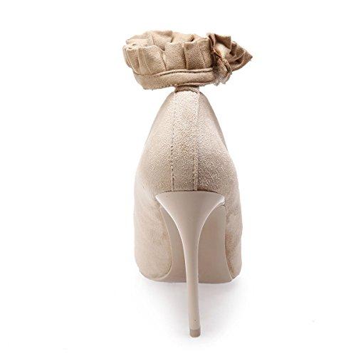 De Mujer Vestir Modeuse La Material Sintético Beige Zapatos xwY1qnvqtE