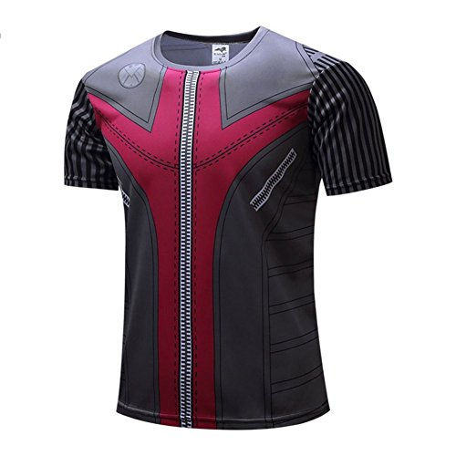 Men's Slim Dri Fit Hawkeye Workouts Shirt Cool