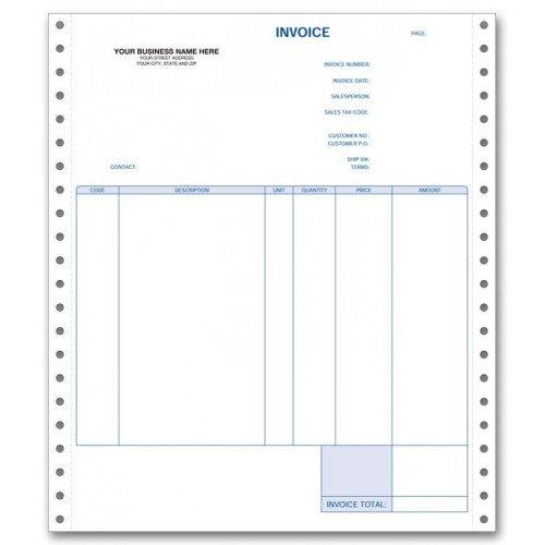 Continuous Invoice - 2