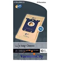 Electrolux Canister Vacuum Cleaner Classic Type S Bags 10 Pk Part # EL200CQ-4,EL200CQ4,EL200CQ,EL200C